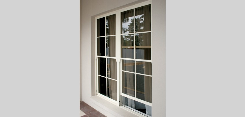 Synergy double hung windows