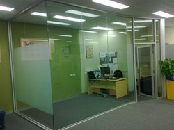 Commercial office - window wall