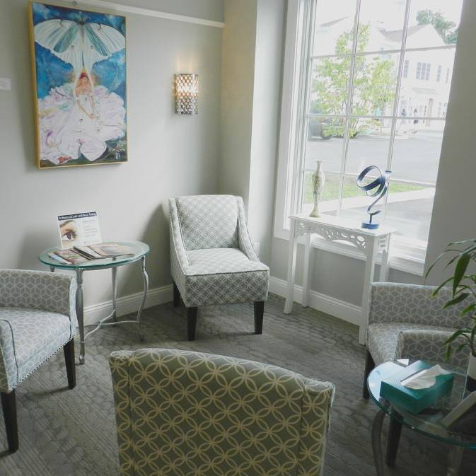 Luxury Day Spa waiting area