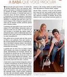 Revista Casa Barra Babá de animais pet sitter rio
