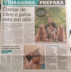 Pet Sitter Rio Jornal Extra babá de animais