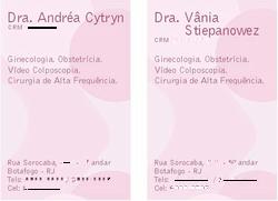 Cartões e Receituário