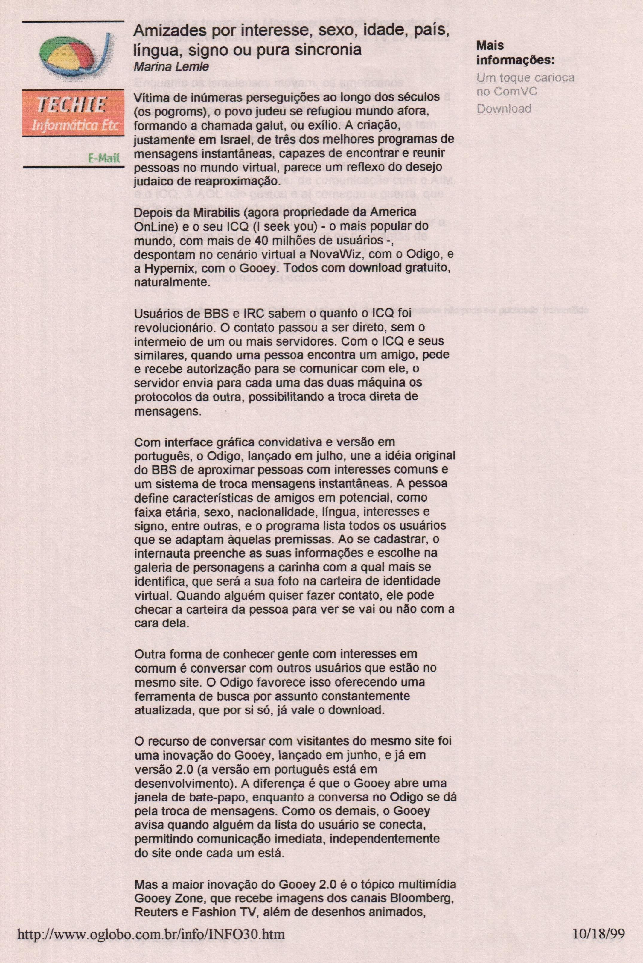 Brasil: Jornal O Globo