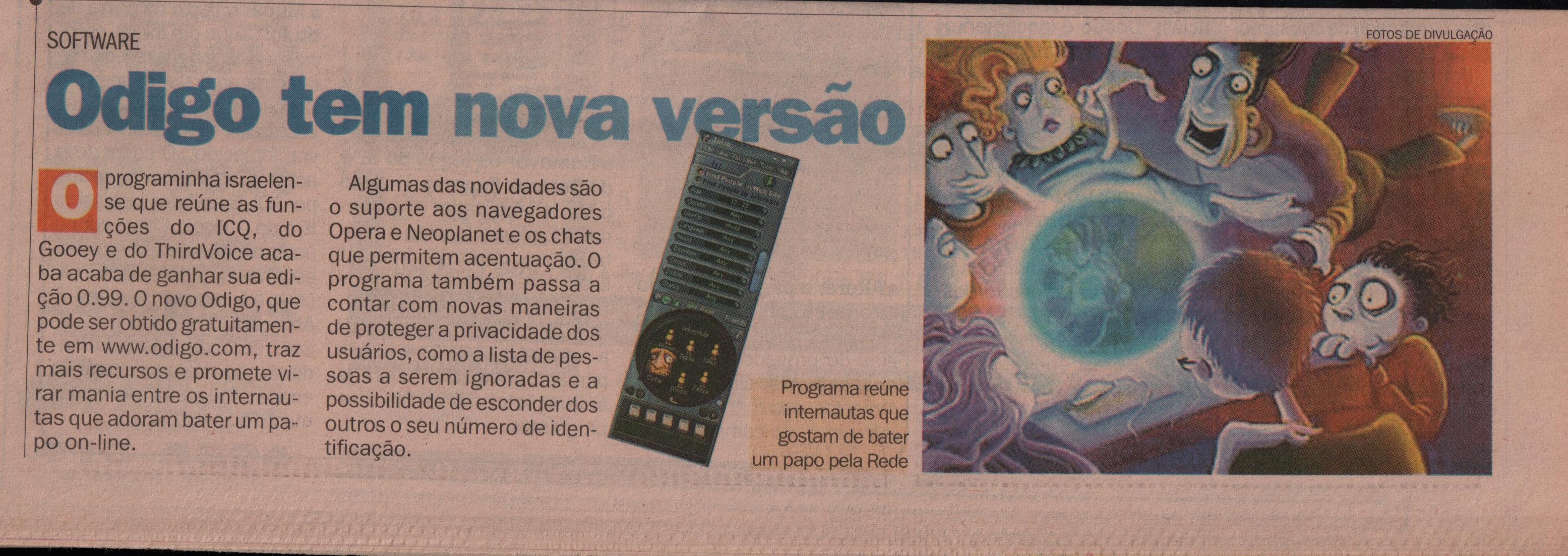 Brasil: Artigos no jornal O Dia