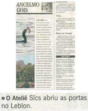 Coluna Social - Ancelmo (O Globo)