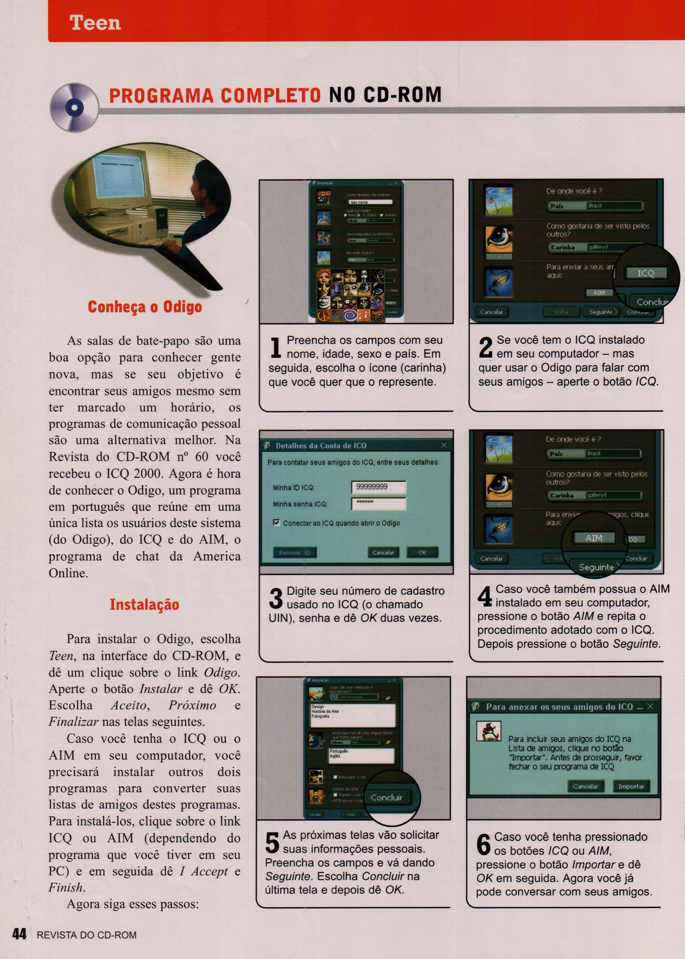 Brasil: Revista do CD-ROM