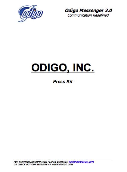 Press Kit - Divulgação Internacional