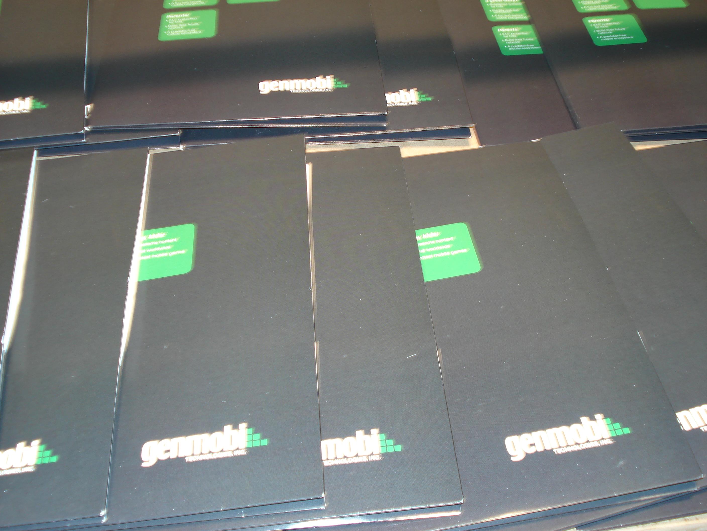 Folders (capas para folhetaria)