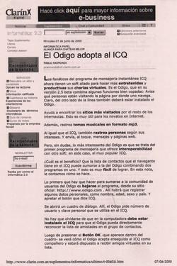 Argentina: Jornal Clarín