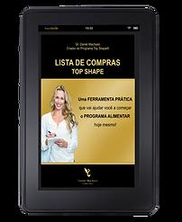 LISTA DE COMPRAS TOP SHAPE