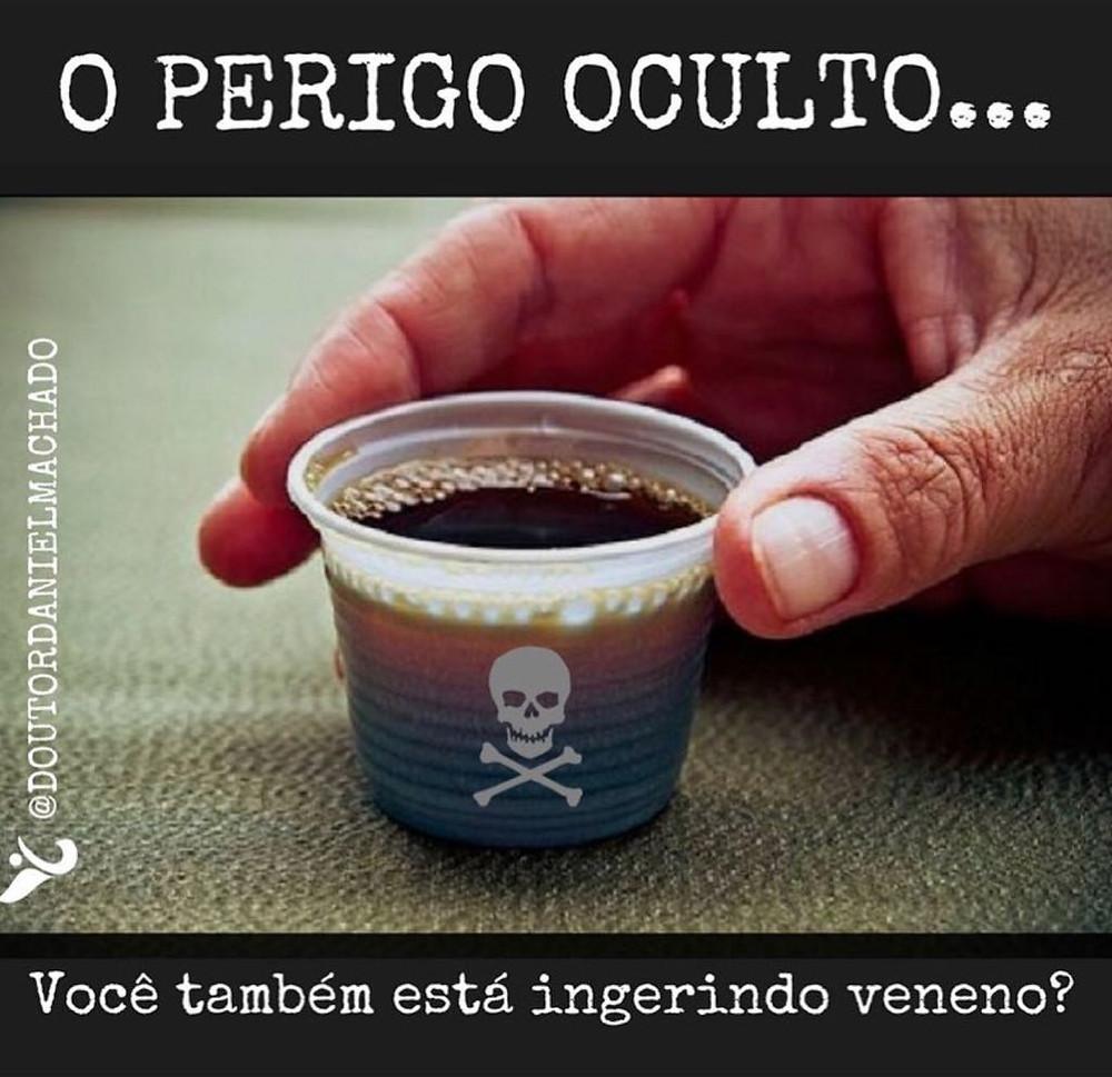Café - Plástico aquecido - Perigos - Bisfenóis
