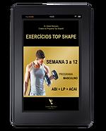 PROGRAMA DE EXERCÍCIOS  TOP SHAPE