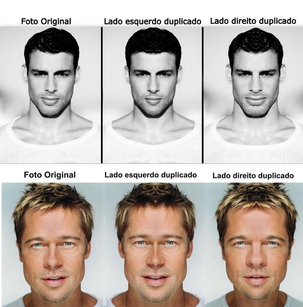 Brad Pitt ou o Cauã Reymond - Beleza é harmonia ou perfeição?