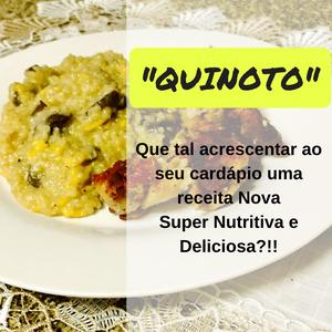 Risoto de Quinoa - QUINOTO