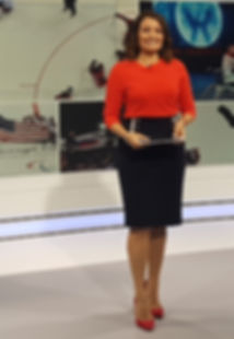 Female hosts Joanna Gasiorowska