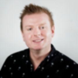 Male hosts Paul Metcalfe