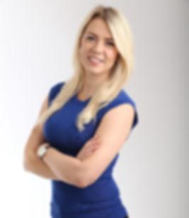 Female hosts Emily Evans