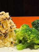 白と緑のサラダ