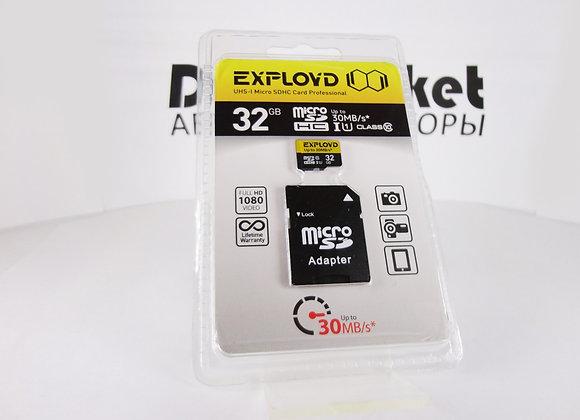 microSD 32Gb 10 класс 30mb/s