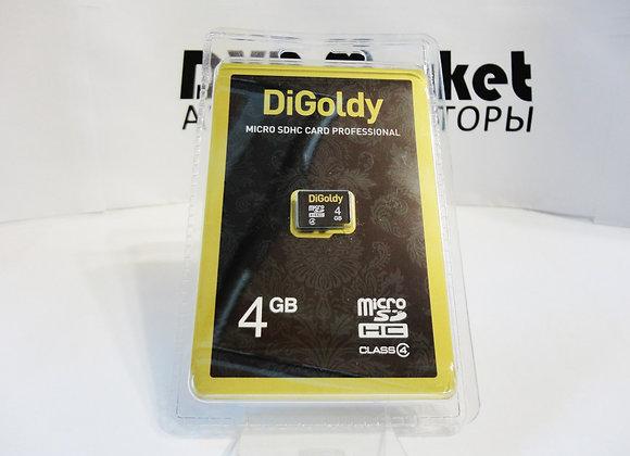microSD 4Gb 4 класc