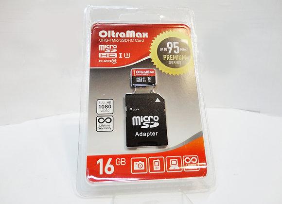 microSD 16Gb 10 класс 95mb/s