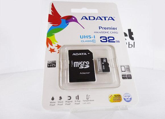 microSD 32Gb 10 класс 20mb/s