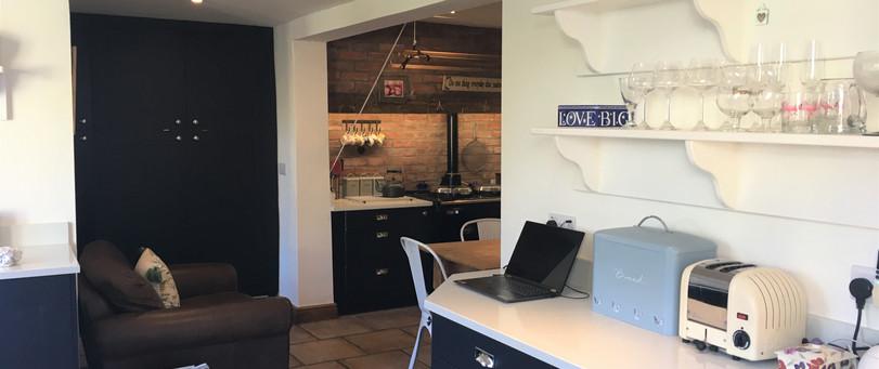 Solent Indigo Quartz worktops
