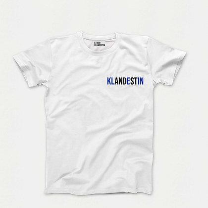 """Tee-Shirt """"KLANDESTIN"""" dans le coeur"""