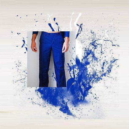 "Pantalon ""FEDERICO"" bleu"