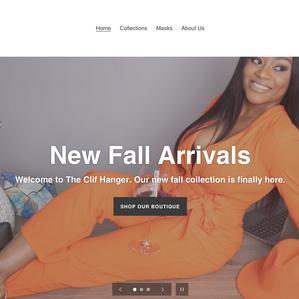 The Clif Hanger | Website creation