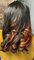 Silk Press on Natural Hair