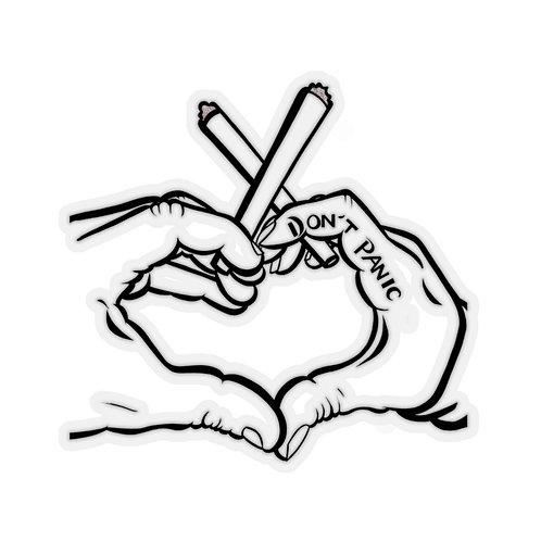 Heart Hands Stickers