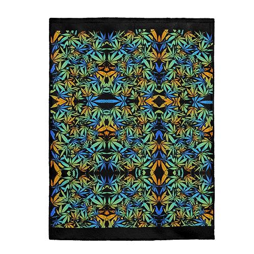 Leaf Plush Blanket