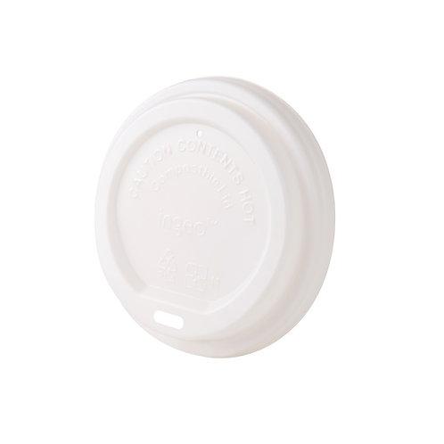 Καπάκι λευκό για χάρτινα ποτήρια από  CPLA