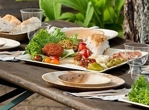 Palm leaf   dishes