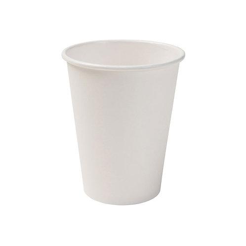 Οικολογικό χάρτινο κύπελλο λευκό