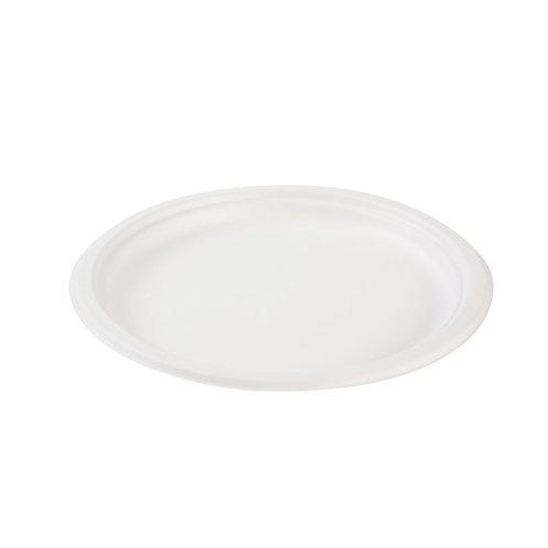 Στρογγυλό πιάτο από ζαχαροκάλαμο