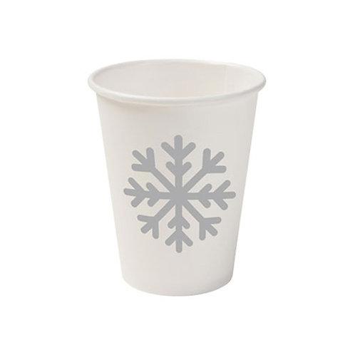 Οικολογικό χάρτινο κύπελλο Winter 200 ml