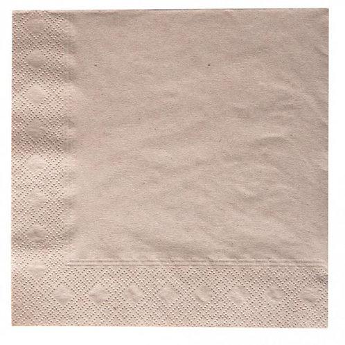 Χαρτοπετσέτα κράφτ 20Χ20 εκατοστά