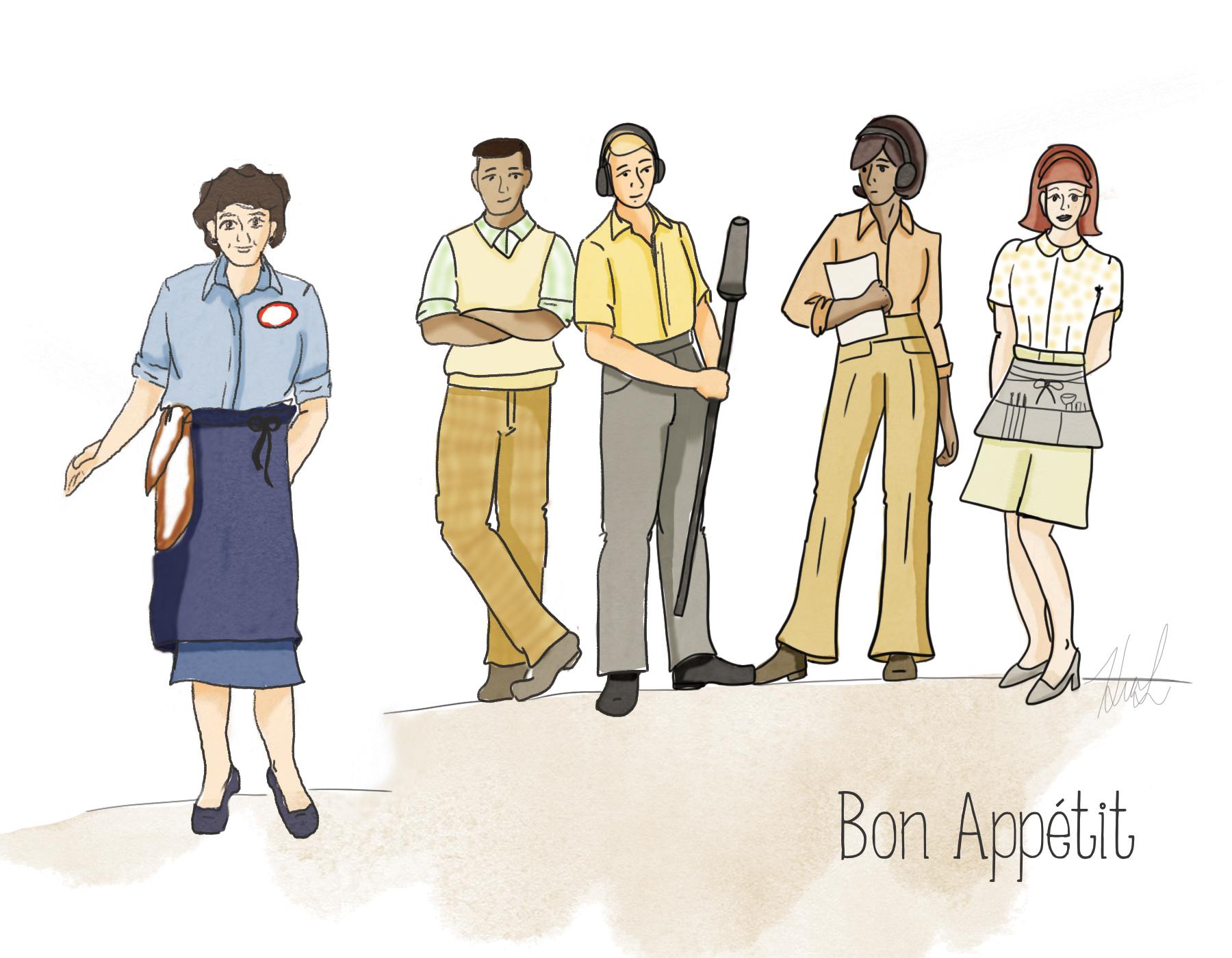 Bon Appetit Sketch