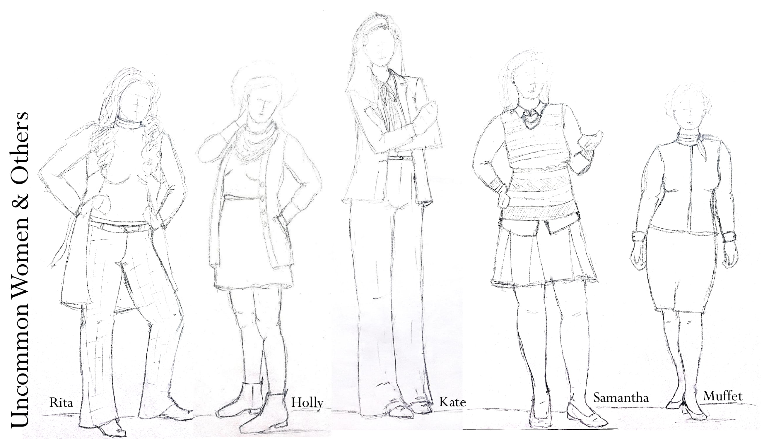 Uncommon Women Sketches
