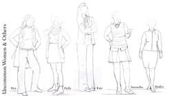 Uncommon Women Sketches