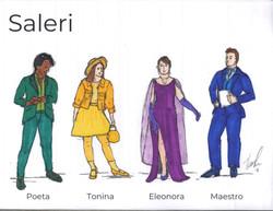 Salieri Costume Sketch