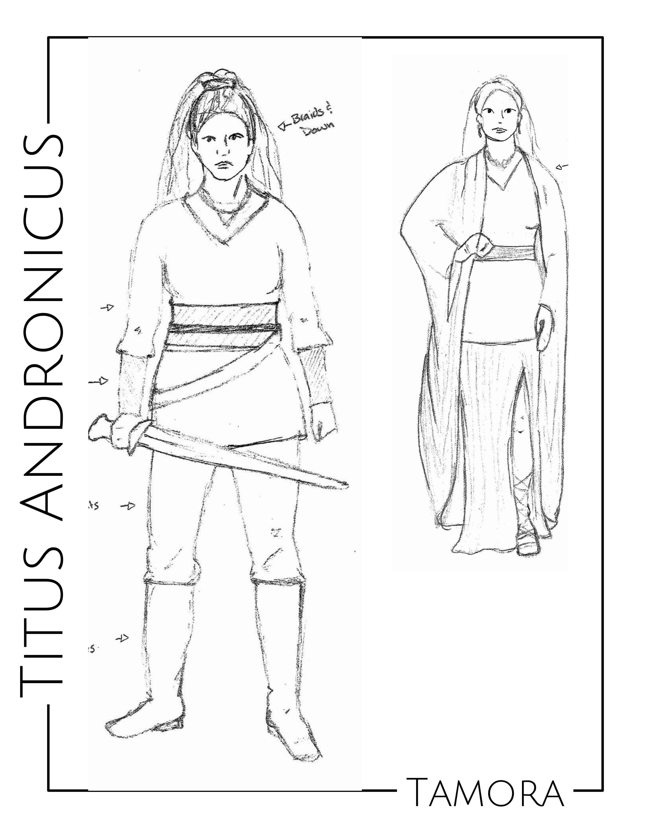 Tamora Sketch