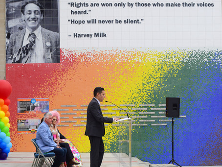 Pride in Long Beach as Mayor Takes Virtual Stage at DNC Tuesday Night