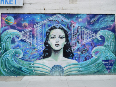 Long Beach Street Art: A Unique Opportunity For Aesthetic Experiences In The Time Of COVID-19