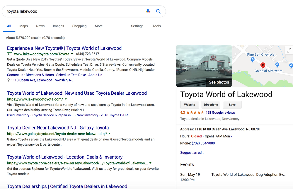 Toyota World Lakewood