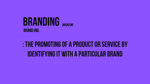 "So What is ""Branding"" Anyways?"