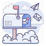 endereço comercial, caixa de correio