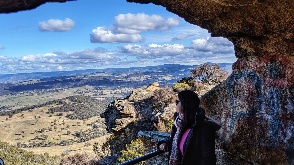 Photo Diary - Road Trip to Hassans Walls Lookout, Lithgow